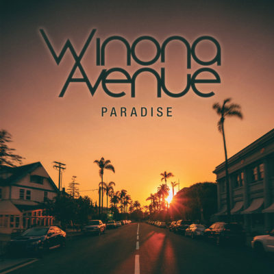 Cover art for Paradise single by Winona Avenue.