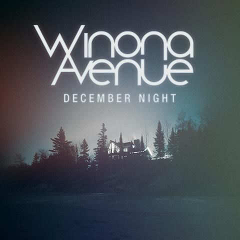 Cover art for December Night single by Winona Avenue.