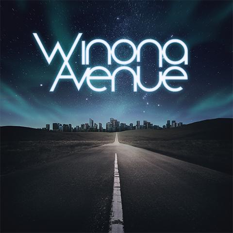 Cover art for Winona Avenue's self-titled album.